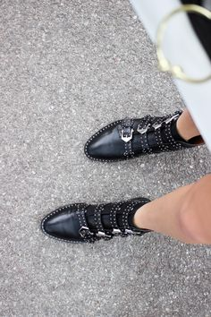 GIvenchy Stud Buckle Boot Dupes Street Style