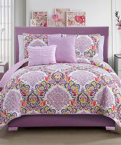 Look at this Dolce Vita Quilt Set on #zulily today!