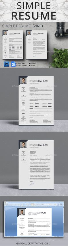 Resume — Photoshop PSD #swiss resume #a4 • Available here → https://graphicriver.net/item/resume/17689774?ref=pxcr