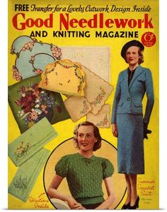 Poster-Print-Wall-Art-entitled-Good-Needlework-and-Knitting-Magazine-June-1938