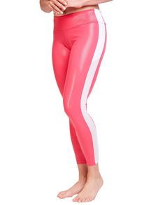 0b3d30c88d Jenna Pink Track Yoga Pants  yogapants  leggings  fitness  yoga Workout  Leggings