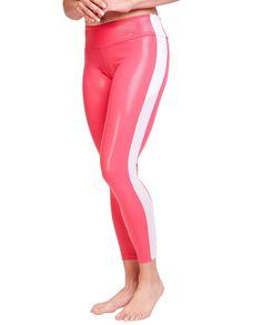 bc0efc8c77 Jenna Pink Track Yoga Pants #yogapants #leggings #fitness #yoga Leggings  Are Not
