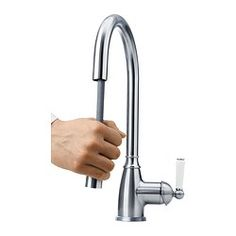 ELVERDAM Single lever kitchen faucet - IKEA