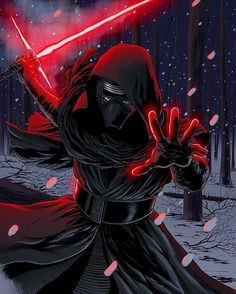 Drawing by Carlos Rafael Colors by me Kylo Ren is pretty cool. Star Wars - The Force Awakens - Kylo Ren Kylo Ren Wallpaper, Star Wars Wallpaper, Star Wars Sith, Star Wars Kylo Ren, Clone Wars, Star Trek, Star Wars Pictures, Star Wars Images, Star Wars Poster