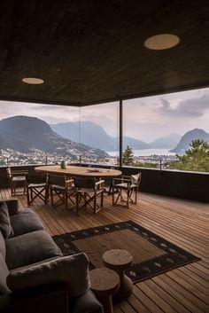 A Stunning Villa with Spectacular Views in Lugano, Switzerland