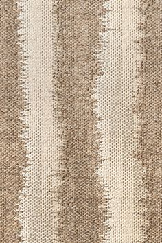 Plough wool & linen rug in Potato colorway, by Merida.