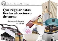¿Dudas qué regalar a los cocineros de tu vida? Aquí tienes 15 regalos culinarios que harán olvidar el bochorno de regalar otro libro de cocina cutrongo.