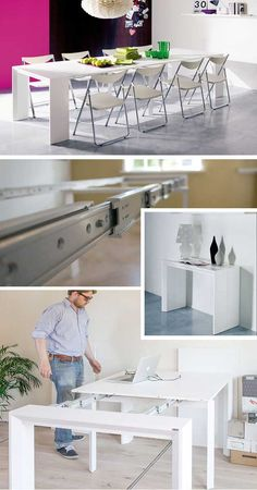 Goliath table – Extreme pull out / folding table (12 persons) | http://www.godownsize.com/goliath-table-extreme-folding-table/