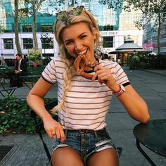 """[ gabby ] """"Hi! I'm Wren Blake! Um... I'm 17 and have a twin brother, Luca. My family and I just moved here from Melbourne Australia."""" I grin. """"I surf and I like to sing.. I'm pretty outgoing, but I don't really have any friends here yet.."""""""