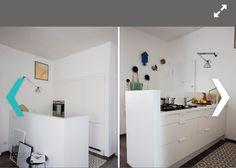 soggiorno piccolo con angolo cottura - living moderno con angolo ... - Soggiorno Open Space Piccolo 2