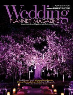 Wedding Planner Magazine- OFD, PW and Blue Steel Lighting Design