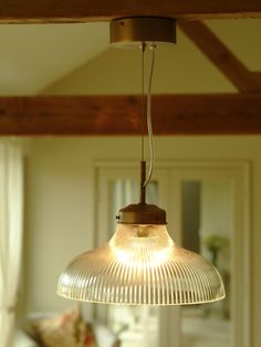 Fluted Glass Pendant Light  http://www.coxandcox.co.uk/decorative-home/lighting/fluted-glass-pendant-light