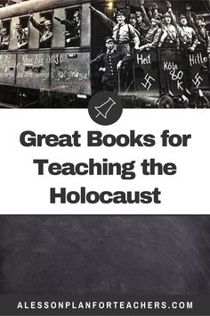 Teaching about World War II and the Holocaust so your students take the   topic seriously and understand the importance of the lessons they are   learning is a challenge. Even is you are a seasoned secondary Social   Studies or History teacher with years of experience and education, you   may feel less than equipped to handle the delicacies of the   Holocaust. These books, ideas, and resources will help you teach the   valuable lessons. #holocaust #historyteacher #historylesson