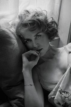 Николь Кидман в эротичном черно-белом образе - Gossip Blog