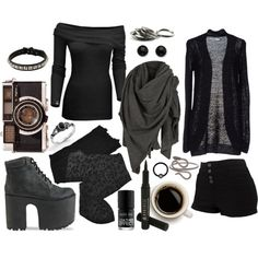 Senza titolo #66 by imnotperky on Polyvore featuring polyvore fashion style ONLY Trasparenze Jeffrey Campbell ASOS Christina Elleni AllSaints Borghese Nails Inc.