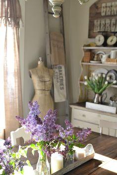 it doesn't get better than lilacs. I miss mine!