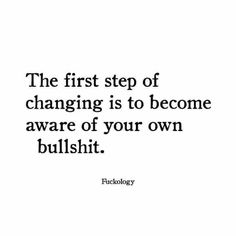 Yep - I'm aware - need reminding sometimes - lol my bullshit isn't too bad - mostly comes from head fucks from my past that I'm long over ;)