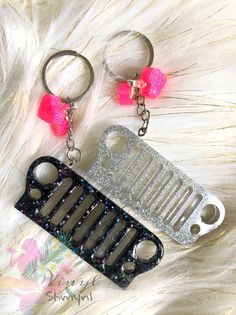 Excited to share this item from my shop: Jeep glitter keychain Jeep Wrangler Accessories, Jeep Accessories, Jeep Patriot Accessories, Jeep Rubicon, Jeep Cj, Cute Keychain, Monogram Keychain, Girly Car, Jeep Renegade