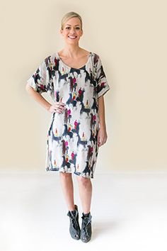 Short Sleeve Dresses, Dresses With Sleeves, Silk Dress, Spring Summer, Collections, Products, Fashion, Silk Gown, Moda