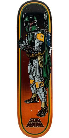 Santa Cruz and Lucasfilm have teamed up for the most epic collab in the history of the universe. Known for some of the most iconic graphics in skateboarding history, Santa Cruz created original illustrated graphics of classic Star Wars characters and slapped them on their decks resulting in the Santa Cruz x Star Wars collab skateboard decks.