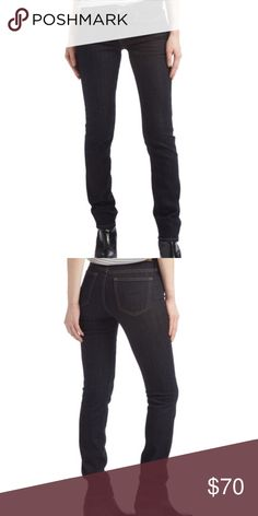 Big Star Armstrong Brigette Low-Rise Skinny Jeans PRODUCT DESCRIPTION: Turn heads without sacrificing comfort in these cotton-blend skinnies with back pocket embellishments.  Size 27: 31'' inseam Low-rise Zip fly / button closure Five-pocket 99% cotton / 1% spandex Machine wash; tumble dry Imported Big Star Jeans Skinny