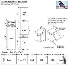 Bird nest craft for kids house plans ideas Bluebird House Plans, Bird House Plans Free, Bird House Kits, New House Plans, Bluebird Houses, Finch Bird House, Bluebird Nest, Bird Nest Craft, Birdhouse Designs