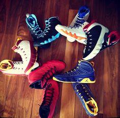 Air Jordan IX Kilroy Pack-release dates