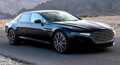 Aston Martin Shows New Lagonda Sedan