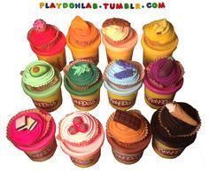 #playdoh #cupcakes