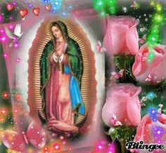 Virgen lupita Blessed Mother Mary, Blessed Virgin Mary, Beautiful Love Pictures, Love Images, Fatima Prayer, Fountain Wedding Cakes, Big Wedding Cakes, Miss You Mom, Pictures Of Jesus Christ