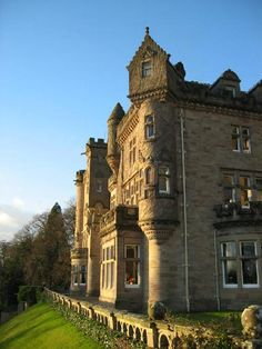 Skibo Castle eastern highlands, on the shores of the Dornoch Firth.
