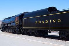 Reading Railroad 4-8-4.