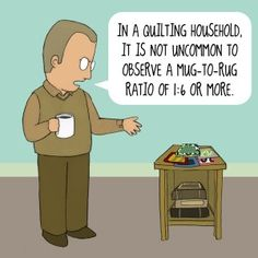 Or at least the number of pins to number of mugs.