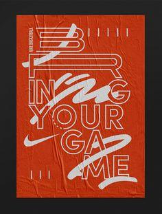 """jimbobarbu:  """"Nike basketball, draft design by Studio Jimbo, 2017.  """""""
