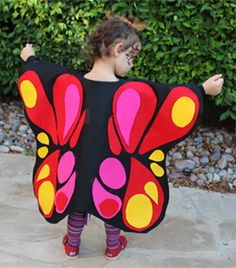 Liv's Halloween calendar has been quite booked (so goes the life of a preschooler?) and we finished up her costume an entire week before the big day! Bug Costume, Dress Up Costumes, Holidays Halloween, Halloween Diy, Diy Butterfly Costume, Butterfly Cocoon, Childrens Fancy Dress, Kids Dress Up, Holidays With Kids