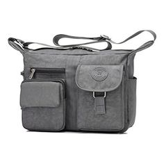 New Trending Shoulder Bags: Womens Shoulder Bags Casual Handbag Travel Bag Messenger Cross Body Nylon Bags Gray. Women's Shoulder Bags Casual Handbag Travel Bag Messenger Cross Body Nylon Bags Gray   Special Offer: $18.99      288 Reviews Women's Shoulder Bags Casual Handbag Travel Bag Messenger Bags Material: Nylon Size: 25CM x 29CM x 12CM Material:NylonColor:...