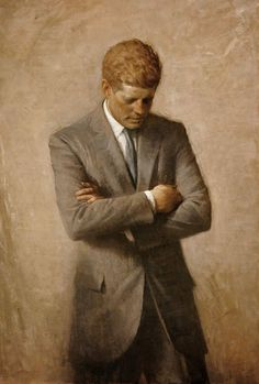 Painting of President John Fitzgerald Kennedy died November 22,1963