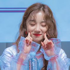Yuqi - (G)i-dle Kpop Girl Groups, Korean Girl Groups, Kpop Girls, K Pop, Fandom Kpop, Twitter Layouts, Pink Punch, Kawaii, Cube Entertainment