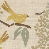 Galbraith & Paul Textiles, birds upholstery linen