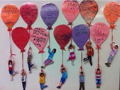 Teacher's Pet – Ideas & Inspiration for Early Years (EYFS), Key Stage 1 (KS1) and Key Stage 2 (KS2)   Hope Balloons