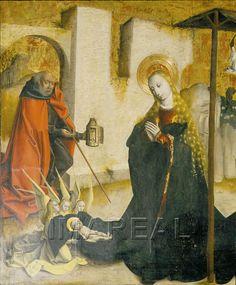 Geburt Christi 1480-1490; Bratislava; Slowakei; Slovenská Národná Galéria  http://tarvos.imareal.oeaw.ac.at/server/images/7015731.JPG
