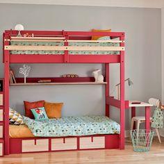 lits superpos s diablotin 5 finitions am pm d co kids pinterest more kids rooms room. Black Bedroom Furniture Sets. Home Design Ideas