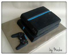bolos aniversário playstation - Pesquisa Google