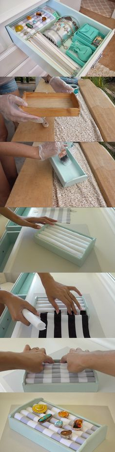 DIY Projects: How to Make Ring Organizers