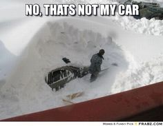 16 Times That Snow Won and We Failed