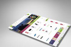 طراحی فروشگاه لوازم جانبی گوشی موبایل بیا این شاپ