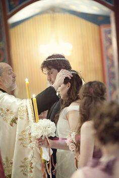 love the symbolism in Greek Orthodox weddings.