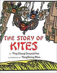 Long ago in China, three brothers--Ting, Pan, and K·ai--become tired of chasing birds from their family's rice fields and experiment with ways to make the job easier, telling how kites may have been invented. Used Books, My Books, Storytelling Books, Picture Story Books, Air And Space Museum, Ancient China, Mixed Media Canvas, Art Classroom, Historical Fiction
