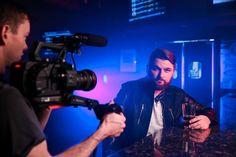 "687 tykkäystä, 14 kommenttia - Adam Chance (@theadamchance) Instagramissa: ""I didn't have to do much acting for this one. Sit. Drink. Sing. Got it. #singalittlemore #musicvideo"""
