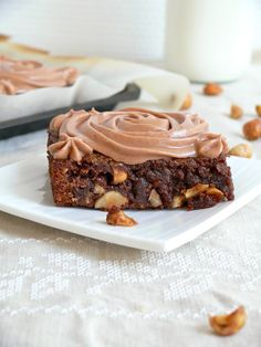 Banana Nutella Brownies 4